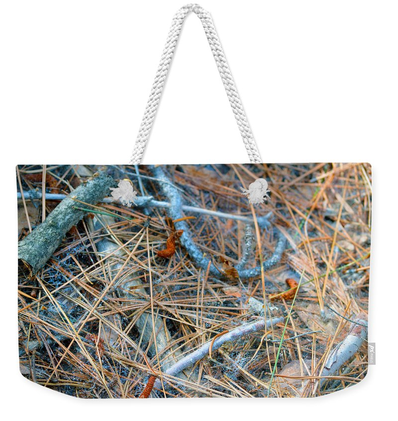 Nevada Weekender Tote Bag featuring the photograph Forest Floor by Brent Dolliver