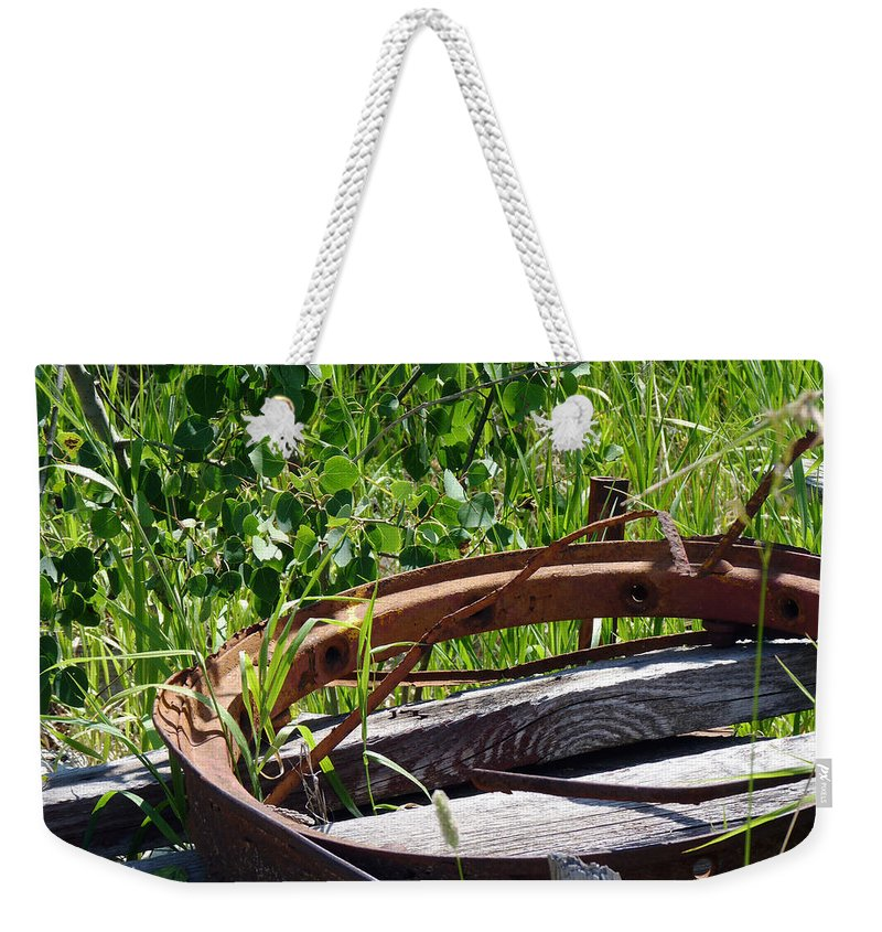 Idaho Weekender Tote Bag featuring the photograph Forest Takeover by Meghan at FireBonnet Art