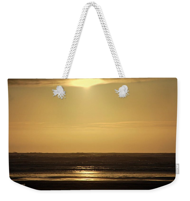 Ocean Weekender Tote Bag featuring the photograph Forever by Jeanette C Landstrom