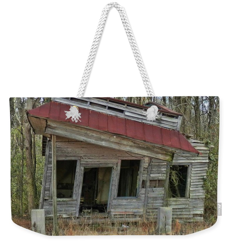 Victor Montgomery Weekender Tote Bag featuring the photograph Forgotten Country Store by Victor Montgomery