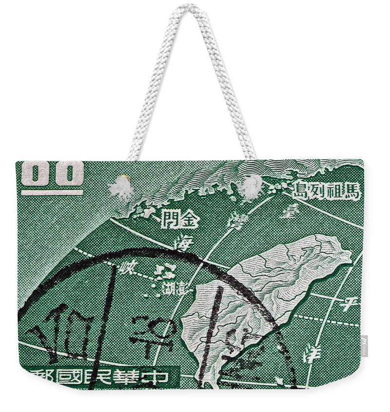 Formosa Stamp Weekender Tote Bag featuring the photograph Formosa Stamp by Bill Owen