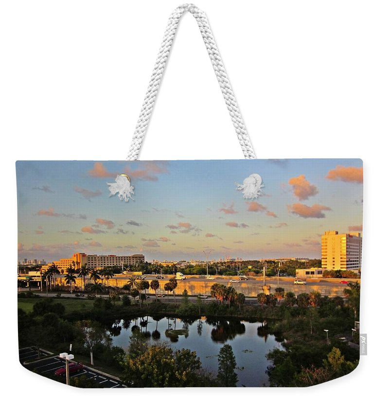 Fort Lauderdale Florida Weekender Tote Bag featuring the photograph Fort Lauderdale View by MTBobbins Photography