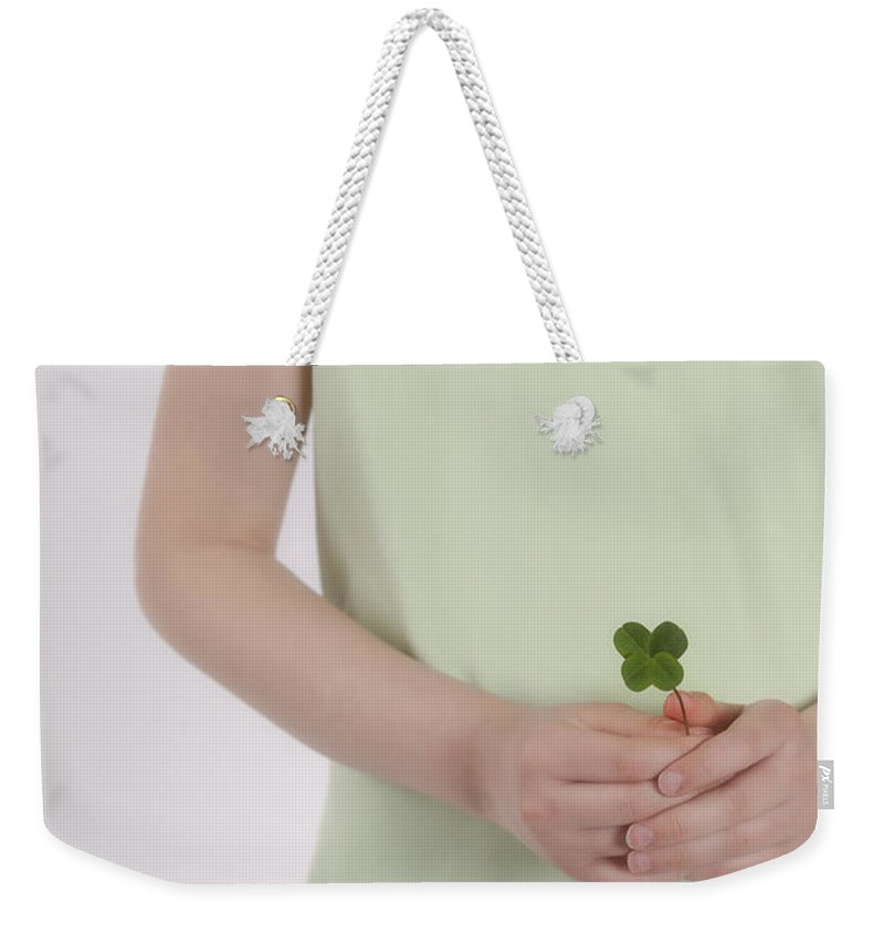 Girl Weekender Tote Bag featuring the photograph Fortune by Joana Kruse