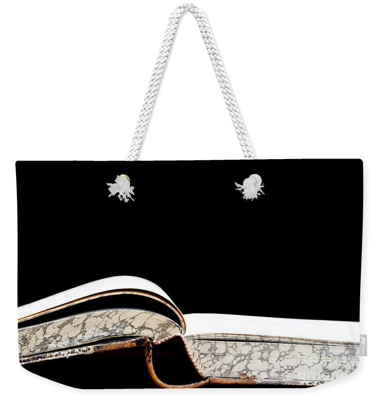 Book Weekender Tote Bag featuring the photograph Fount Of Knowledge by Michal Boubin