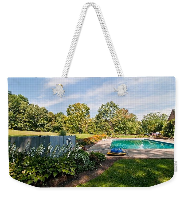 Weekender Tote Bag featuring the photograph Fourteen by Randall Branham