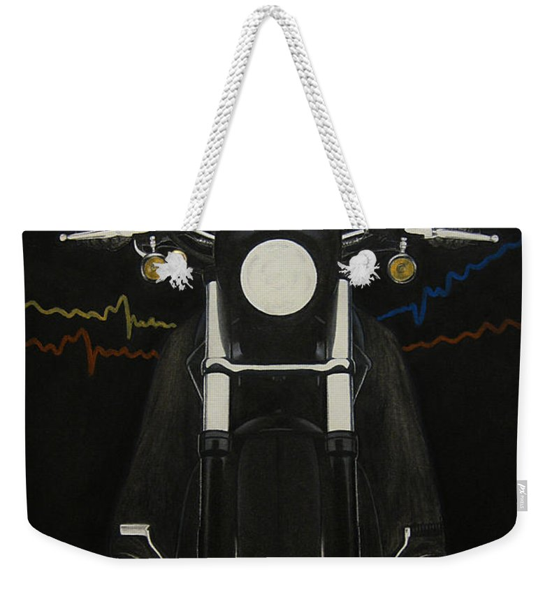 Freedom Weekender Tote Bag featuring the painting Freedom by Lynet McDonald