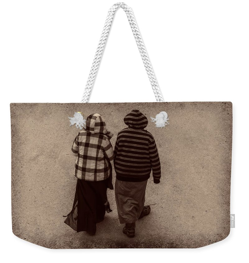 Landscape Weekender Tote Bag featuring the photograph Friends by Bob Orsillo