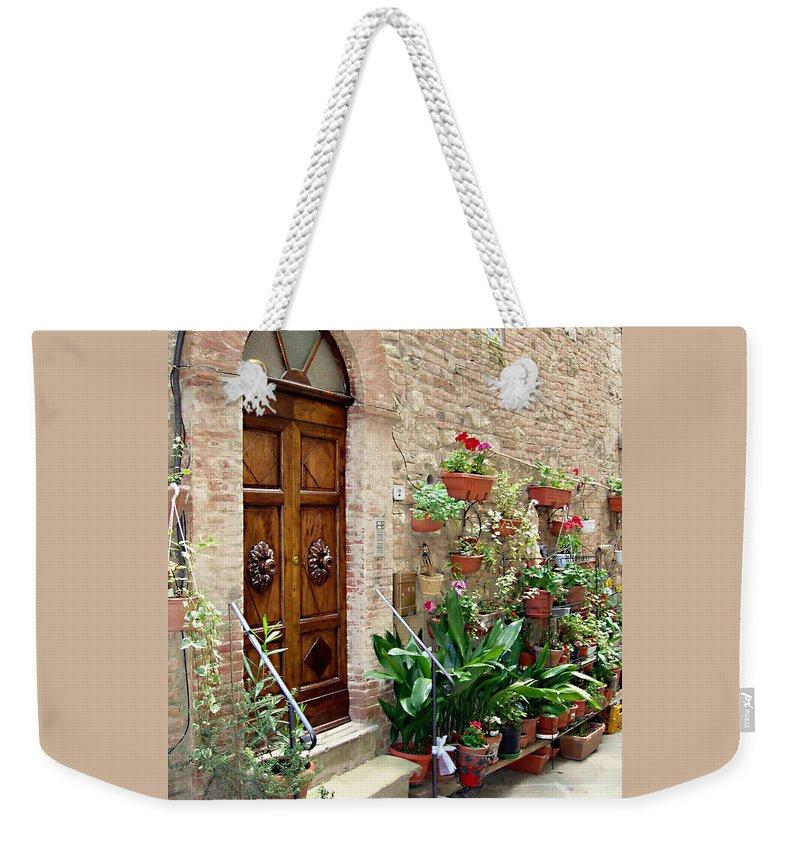 Door Weekender Tote Bags