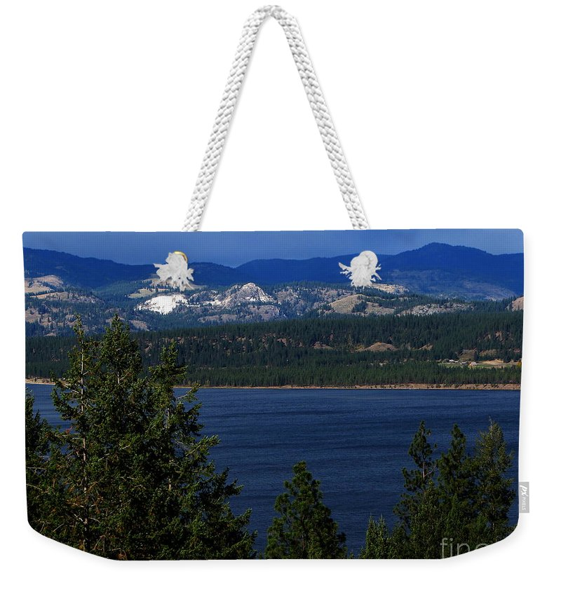 Patzer Weekender Tote Bag featuring the photograph Front Porch by Greg Patzer
