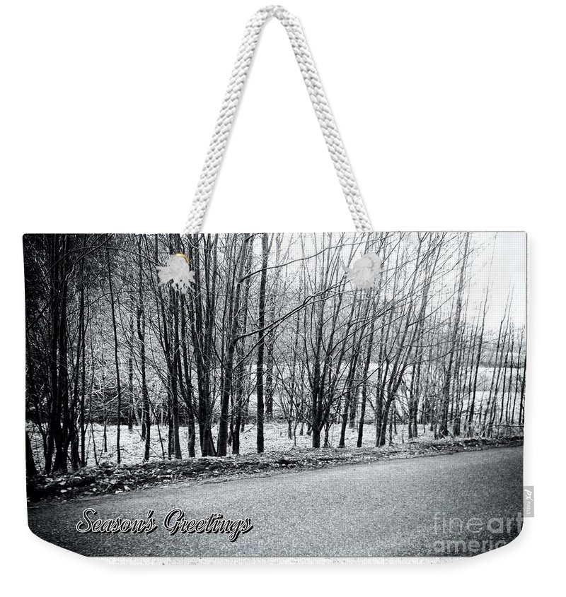 Dalmally Weekender Tote Bag featuring the photograph Frosty Morning At Dalmally by Joan-Violet Stretch