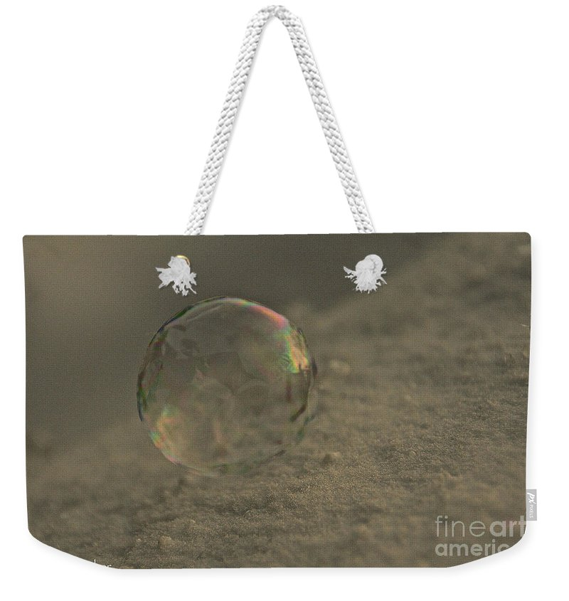 Outdoors Weekender Tote Bag featuring the photograph Frozen Air by Susan Herber