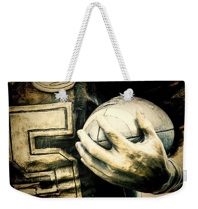 Joan Carroll Weekender Tote Bag featuring the photograph Frozen In Time by Joan Carroll