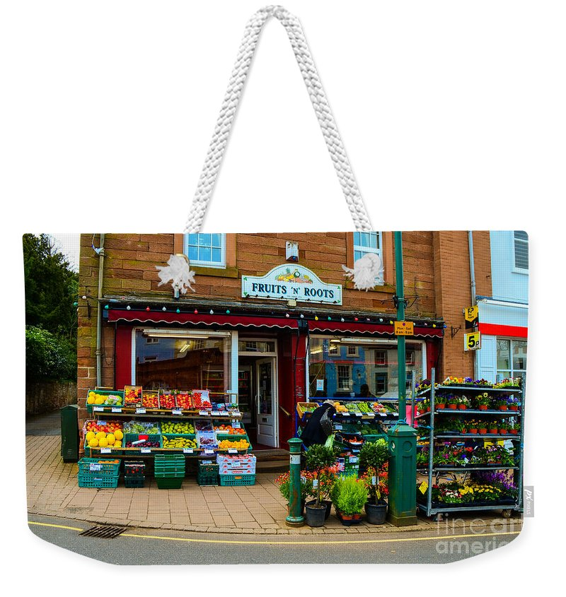 Agriculture Weekender Tote Bag featuring the photograph Fruits 'n' Roots 2 by Mary Carol Story