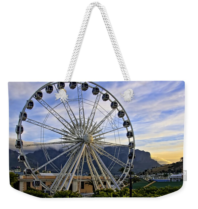 Activity Weekender Tote Bag featuring the photograph Fun In Cape Town by Maria Coulson