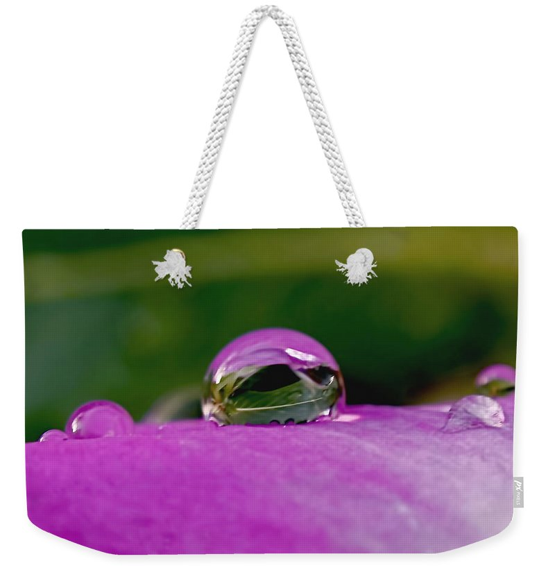 Fusion Weekender Tote Bag featuring the photograph Fusion by Rona Black