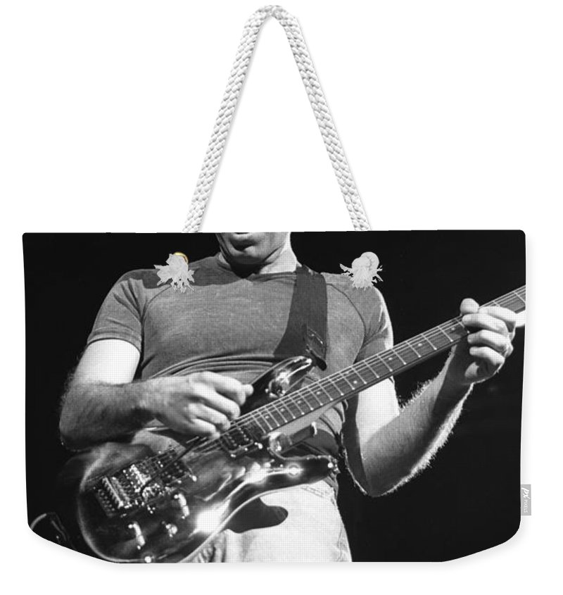 Guitarist Weekender Tote Bag featuring the photograph G3 by Concert Photos