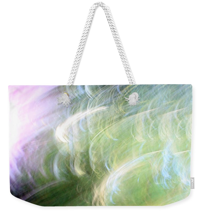Colors Weekender Tote Bag featuring the photograph Galaxy Colors by Munir Alawi
