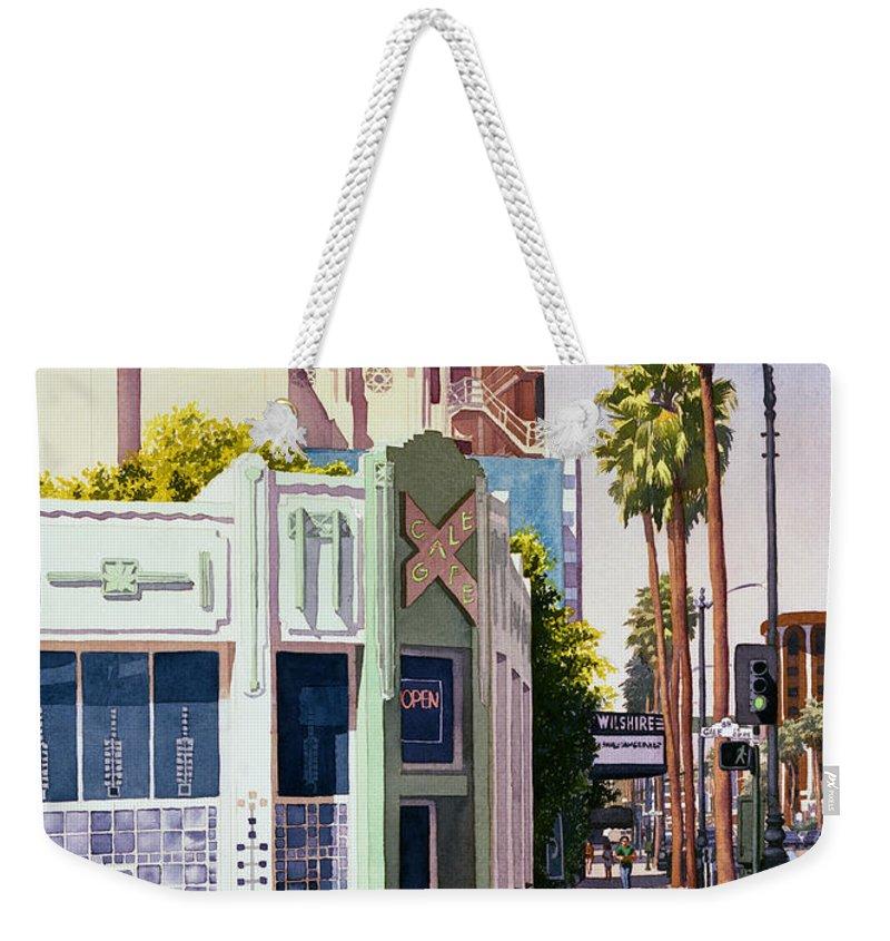Beverly Hills Weekender Tote Bags