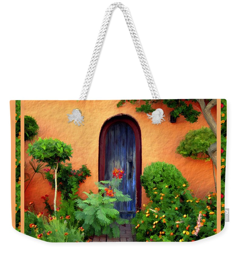 Garden Weekender Tote Bag featuring the photograph Garden Delights Mesilla by Kurt Van Wagner