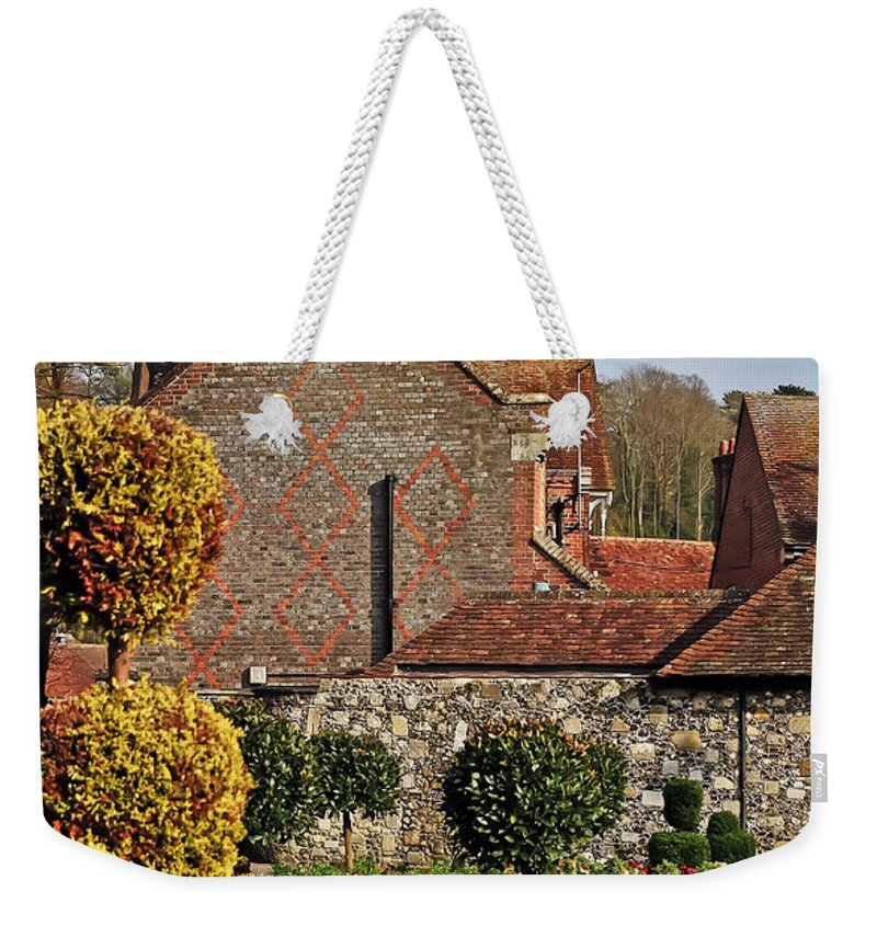 Travel Weekender Tote Bag featuring the photograph Garden Of Winchester by Elvis Vaughn