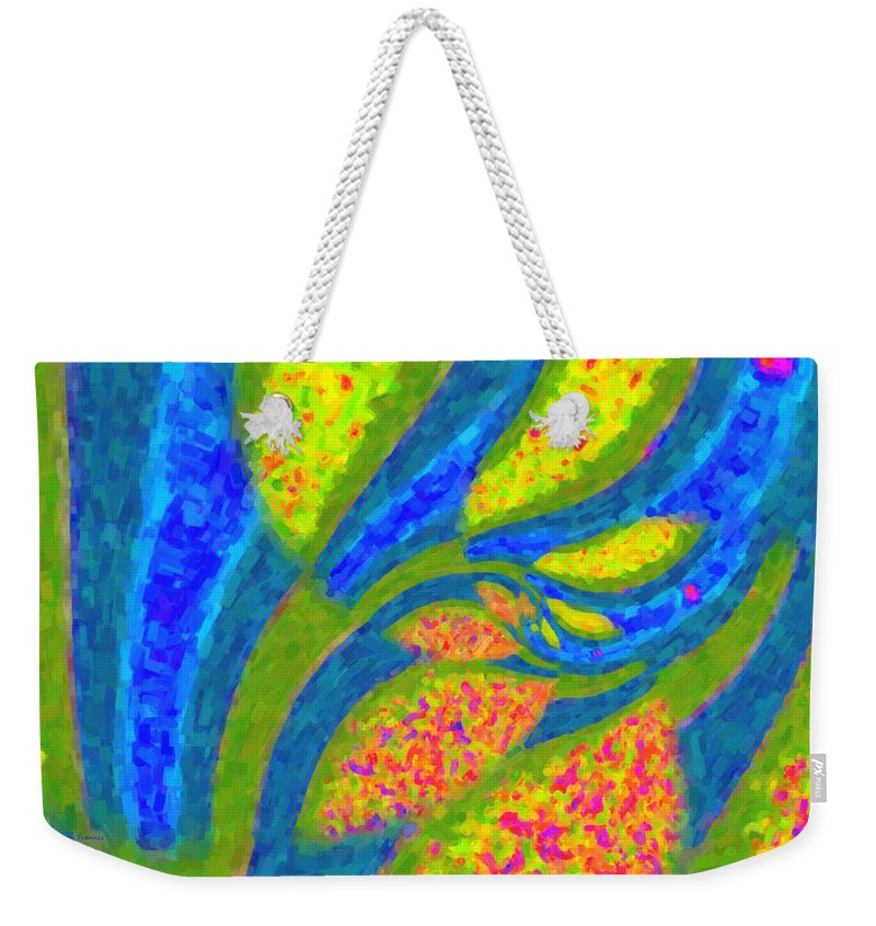 Kenny Francis Weekender Tote Bag featuring the photograph Gardens Of The Mind by Kenny Francis
