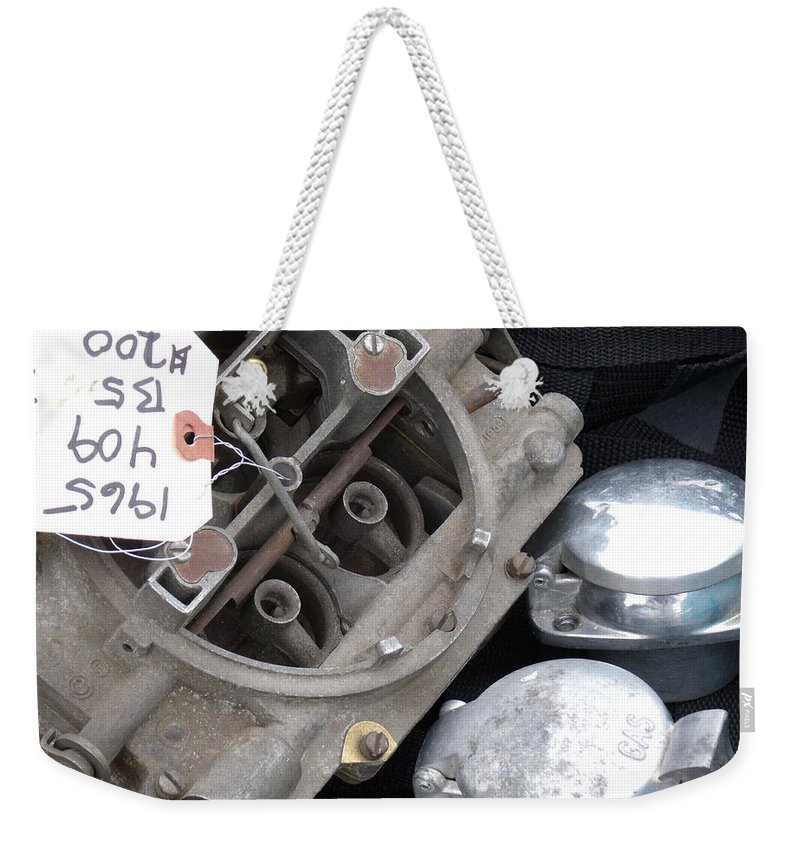 Gas Weekender Tote Bag featuring the photograph Gas In by David S Reynolds