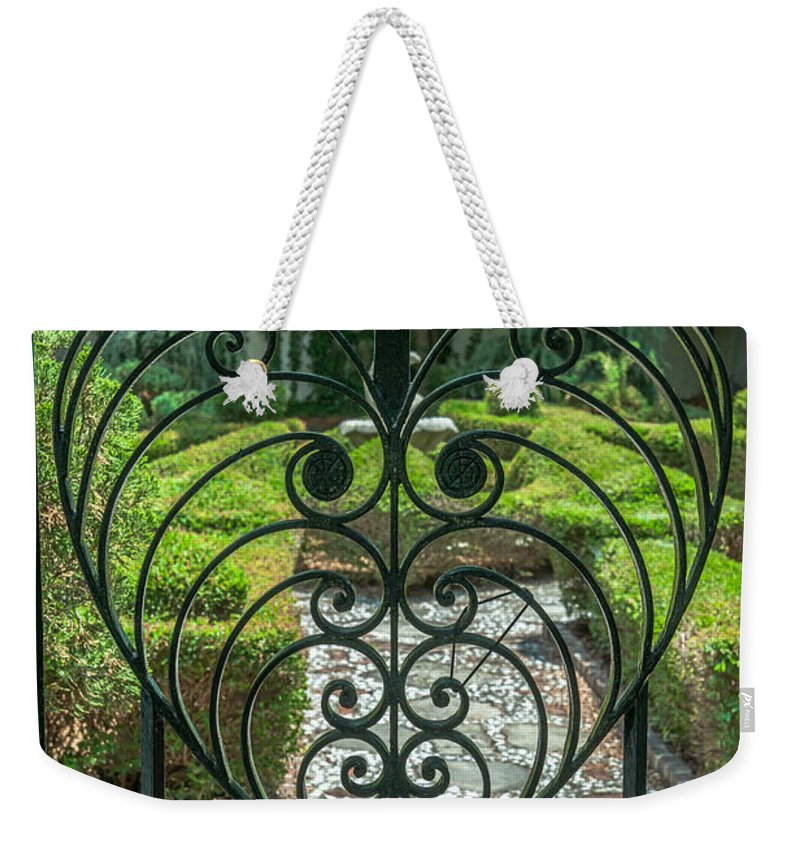 Gate Keeper Weekender Tote Bag featuring the photograph Gate Keeper by Dale Powell