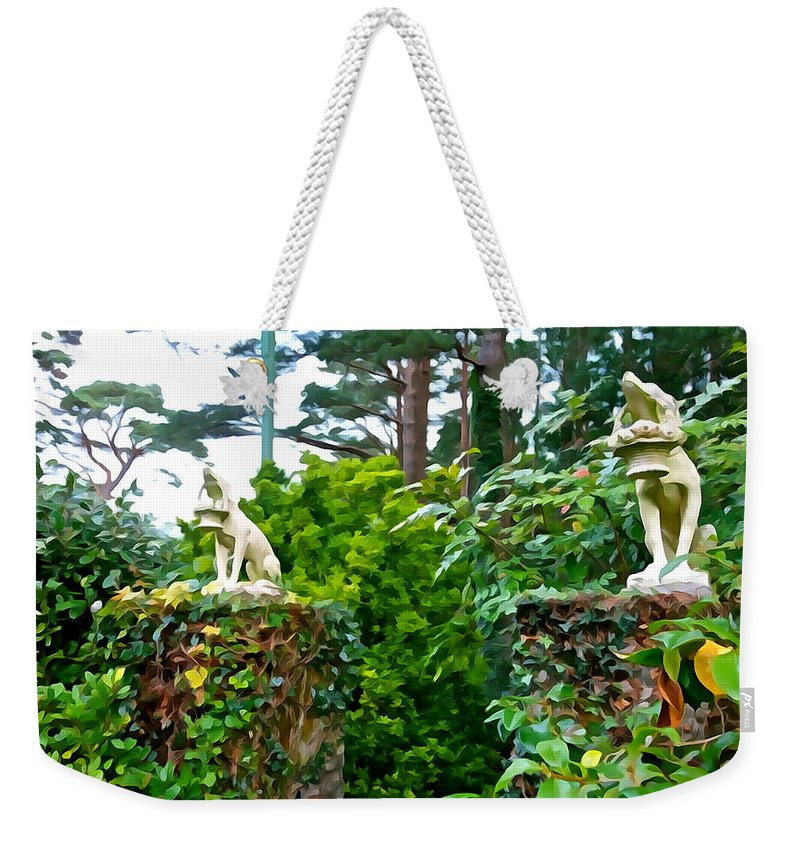 Guardians Weekender Tote Bag featuring the photograph Gate Keepers by Charlie and Norma Brock