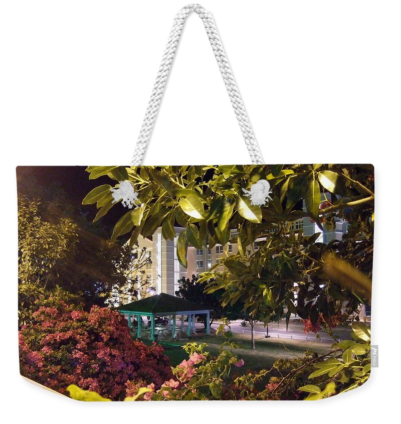 Weekender Tote Bag featuring the photograph Gazebo To Sd6 by Katerina Naumenko
