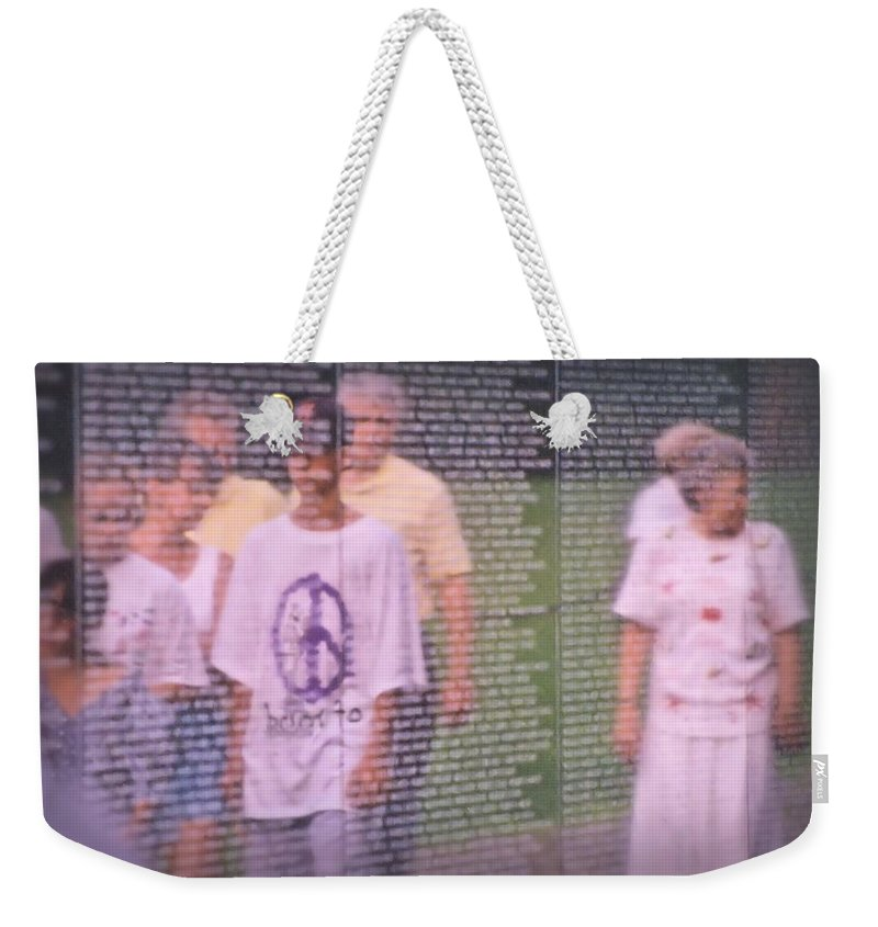 Reflection Weekender Tote Bag featuring the photograph Generations by DJ Florek