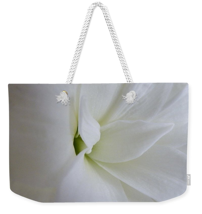 Flower Weekender Tote Bag featuring the photograph Genesis by Brian Boyle