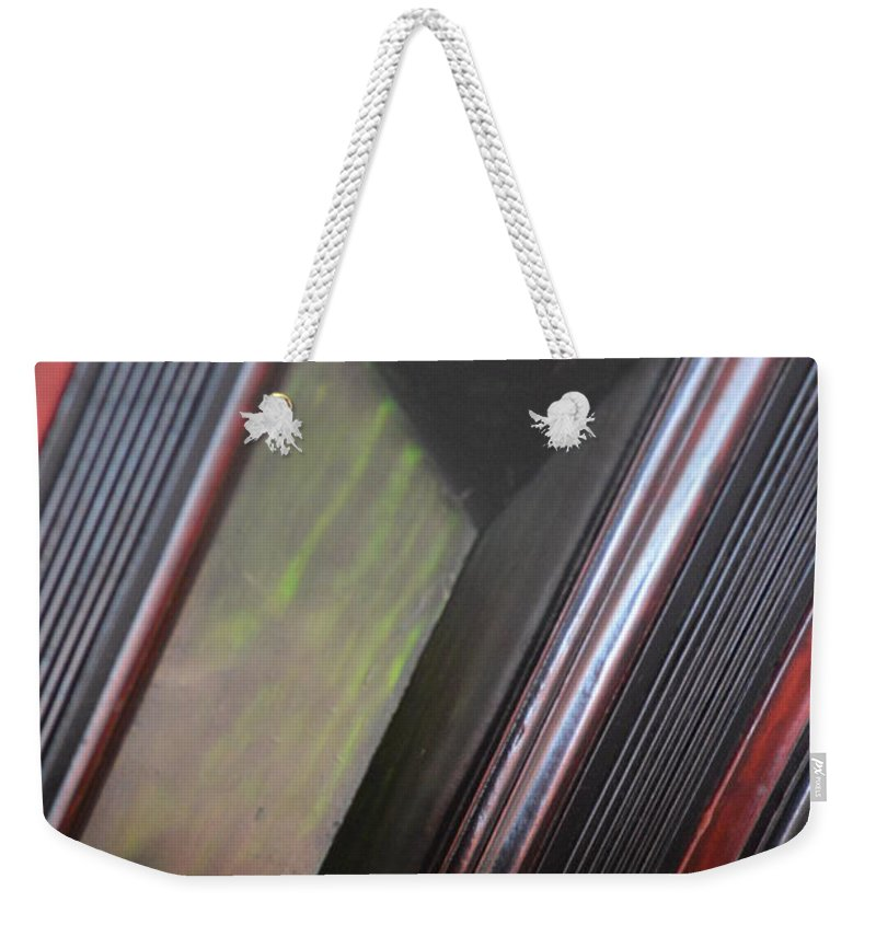 Geomitrix Weekender Tote Bag featuring the photograph Geomitrix by Brian Boyle