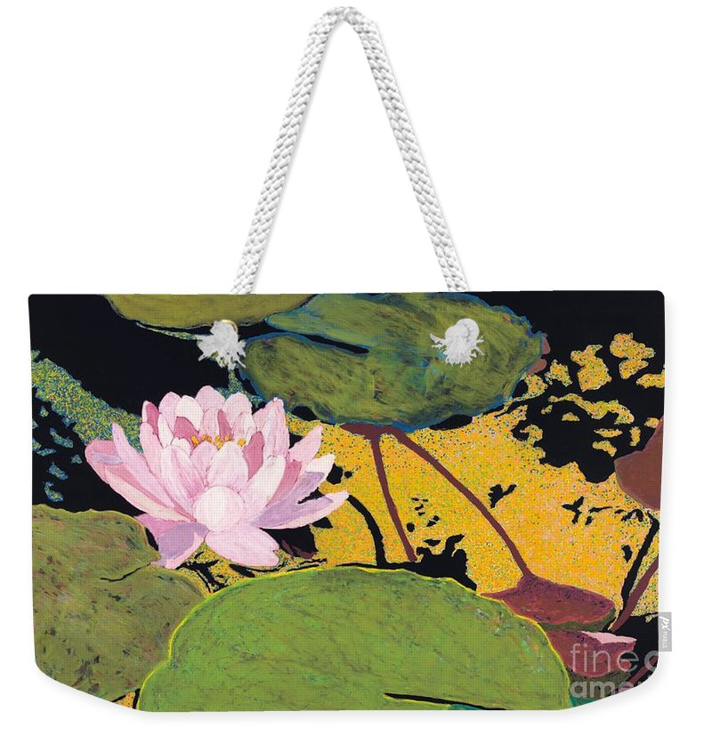 Landscape Weekender Tote Bag featuring the painting Georgia Summer by Allan P Friedlander
