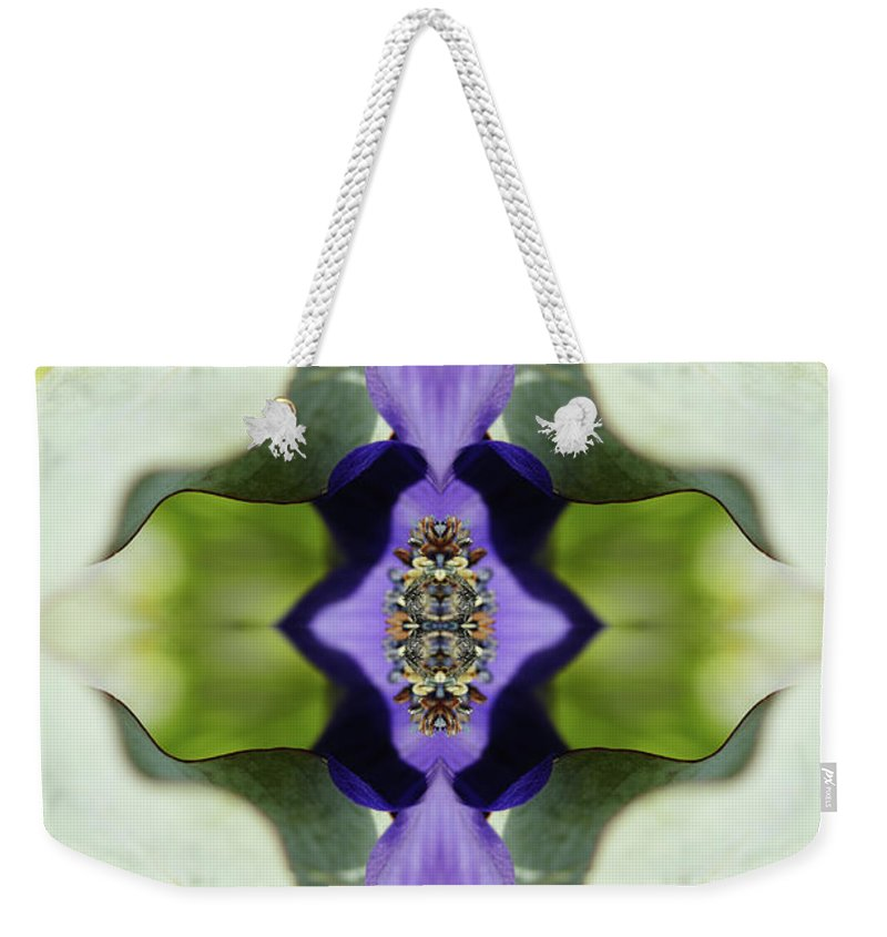 Tranquility Weekender Tote Bag featuring the photograph Gerbera Flower by Silvia Otte