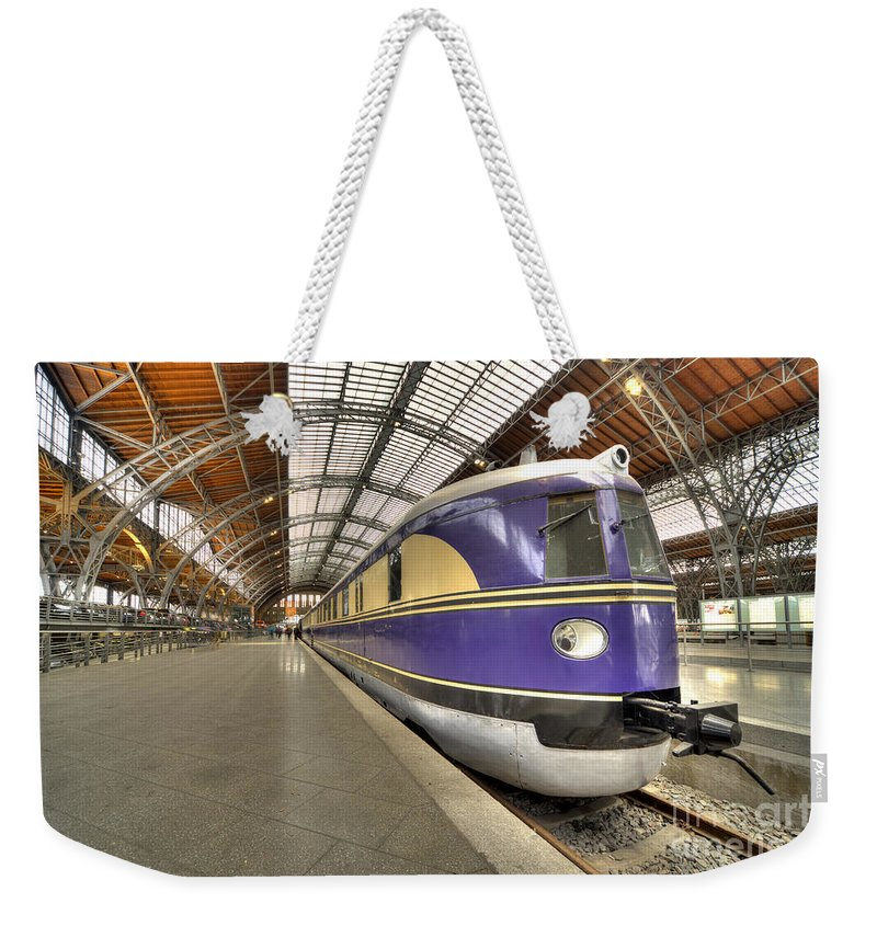 German Weekender Tote Bag featuring the photograph German Dmu by Rob Hawkins