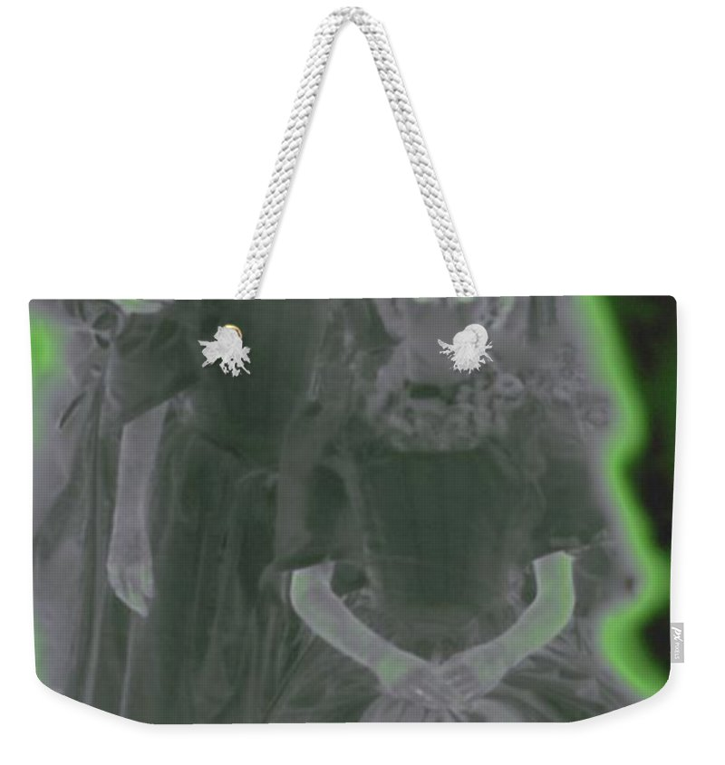 First Star Art Weekender Tote Bag featuring the photograph Ghost Family Portrait by First Star Art