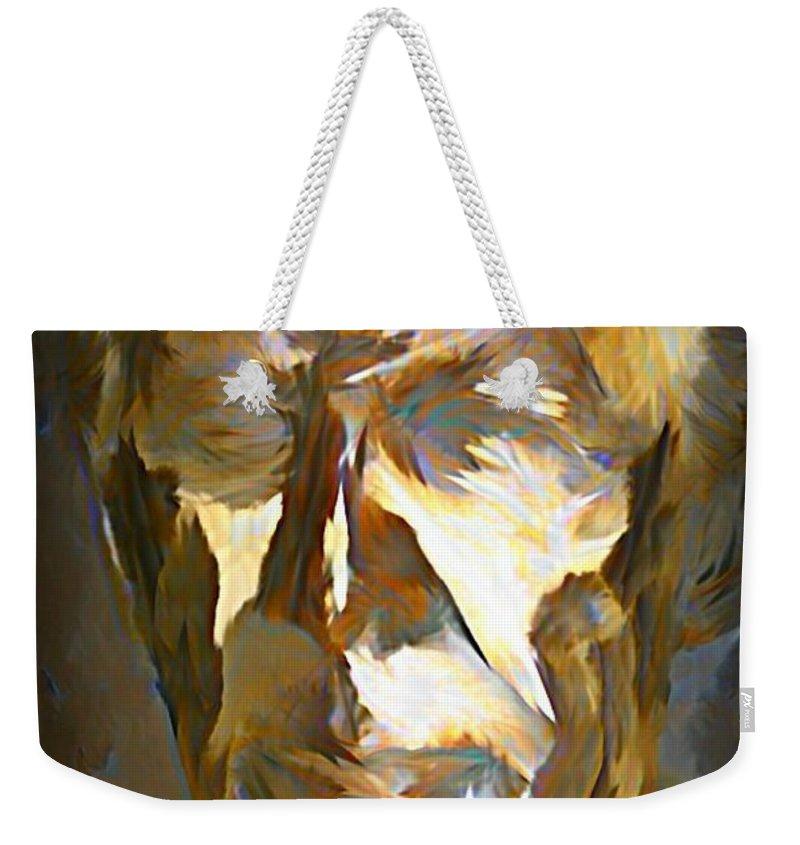 Ghost Of Robert Stanfield Weekender Tote Bag featuring the painting Ghost Of Robert Stanfield by John Malone
