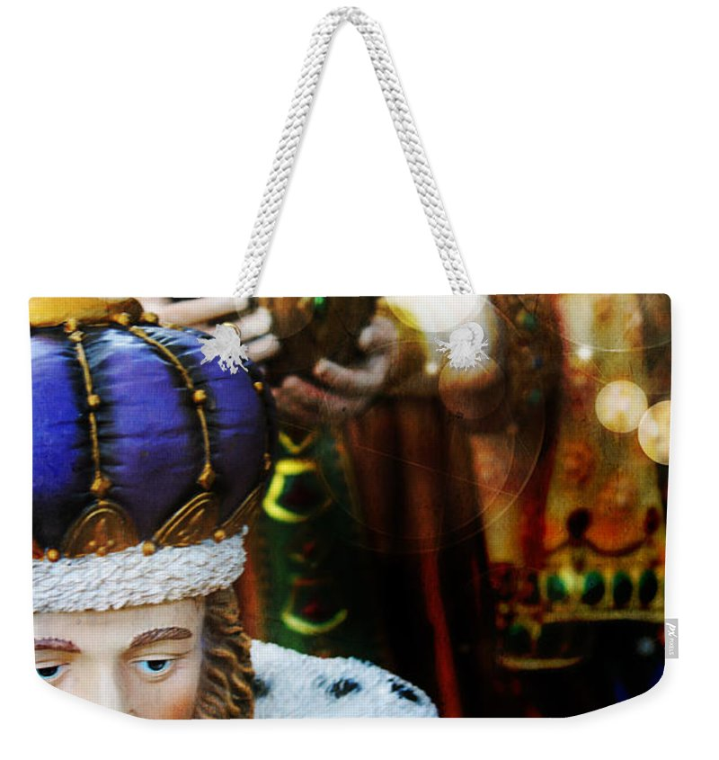 Christmas Weekender Tote Bag featuring the photograph Gift Of The Magi by Robin Lewis
