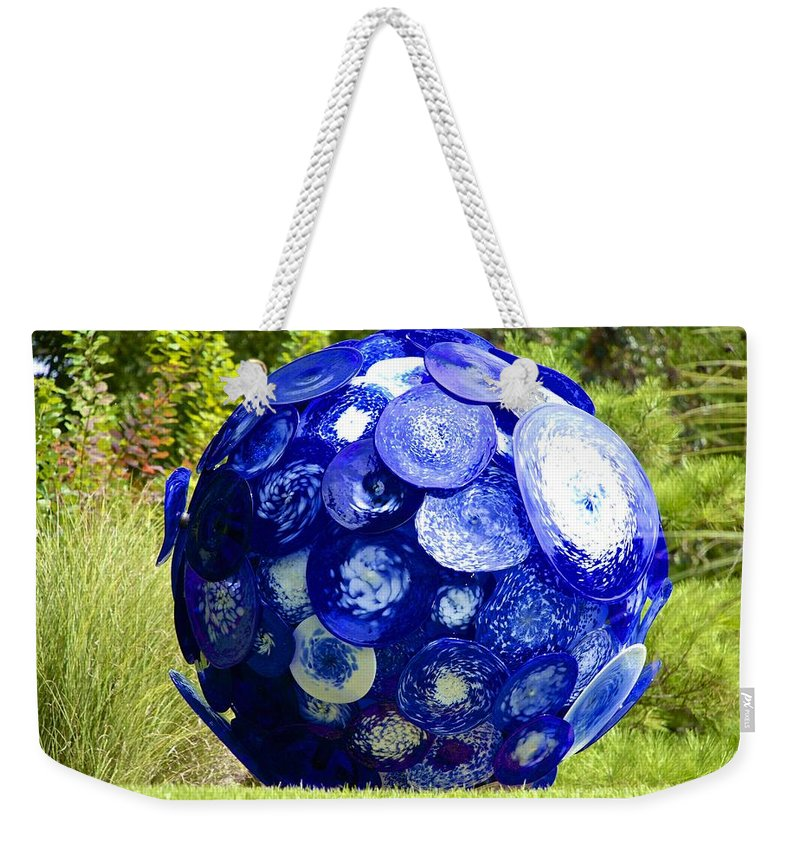 Glass Weekender Tote Bag featuring the photograph Glass Planet by Charlie Brock