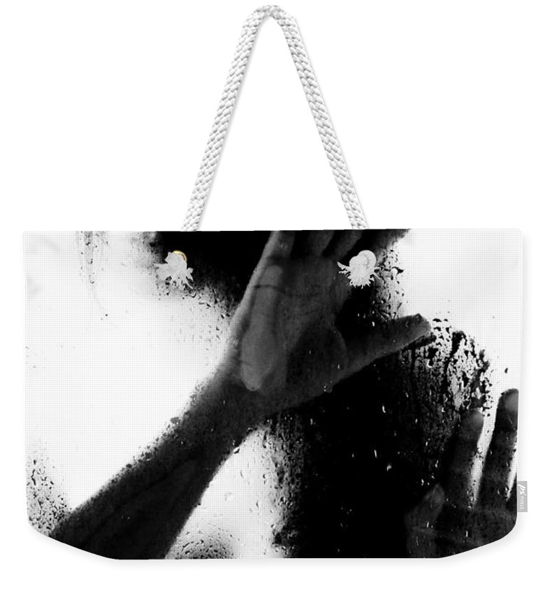 Art Weekender Tote Bag featuring the photograph Glass Shadows by Jt PhotoDesign