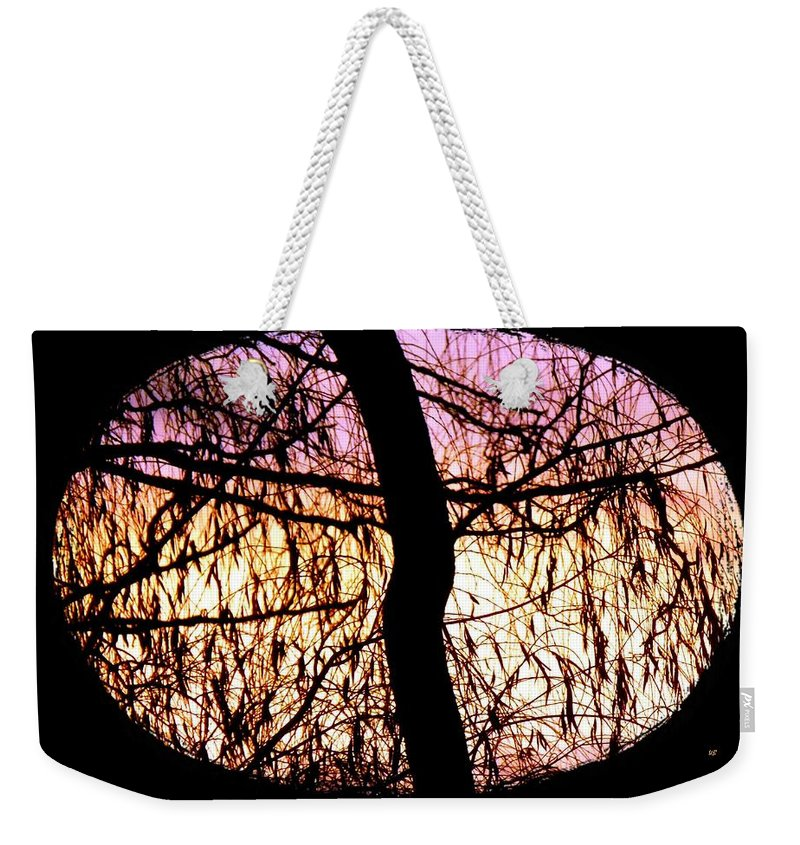 Glorious Silhouettes 3 Weekender Tote Bag featuring the photograph Glorious Silhouettes 3 by Will Borden