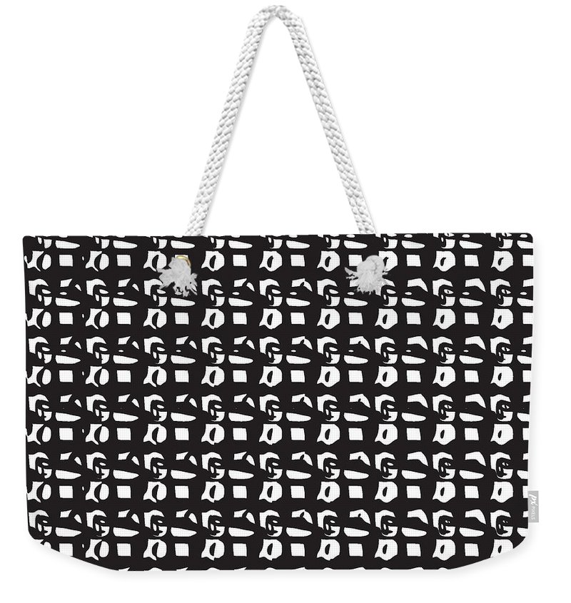 women's Fashion girl's Fashion fashion Design graphic Art Graphics Fashion Design Weekender Tote Bag featuring the photograph Glyphs 15 Phone Case by Bill Owen