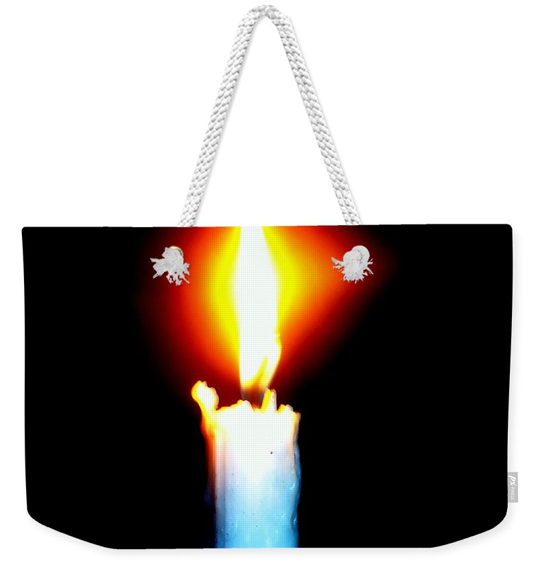 City Weekender Tote Bag featuring the photograph Go Light The World by Tuntufye Abel