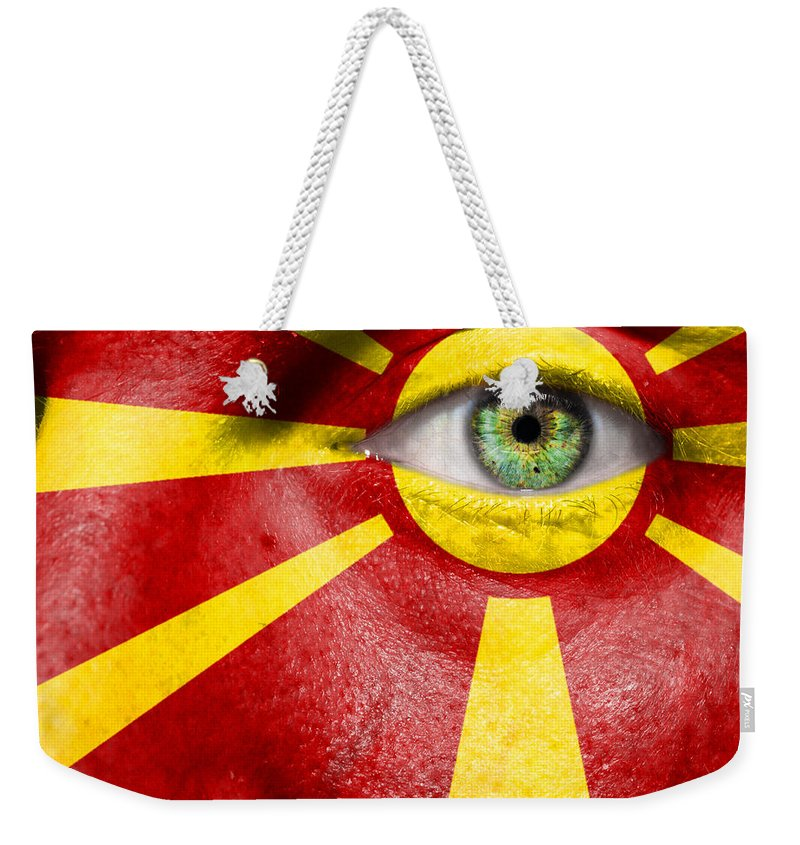Art Weekender Tote Bag featuring the photograph Go Macedonia by Semmick Photo