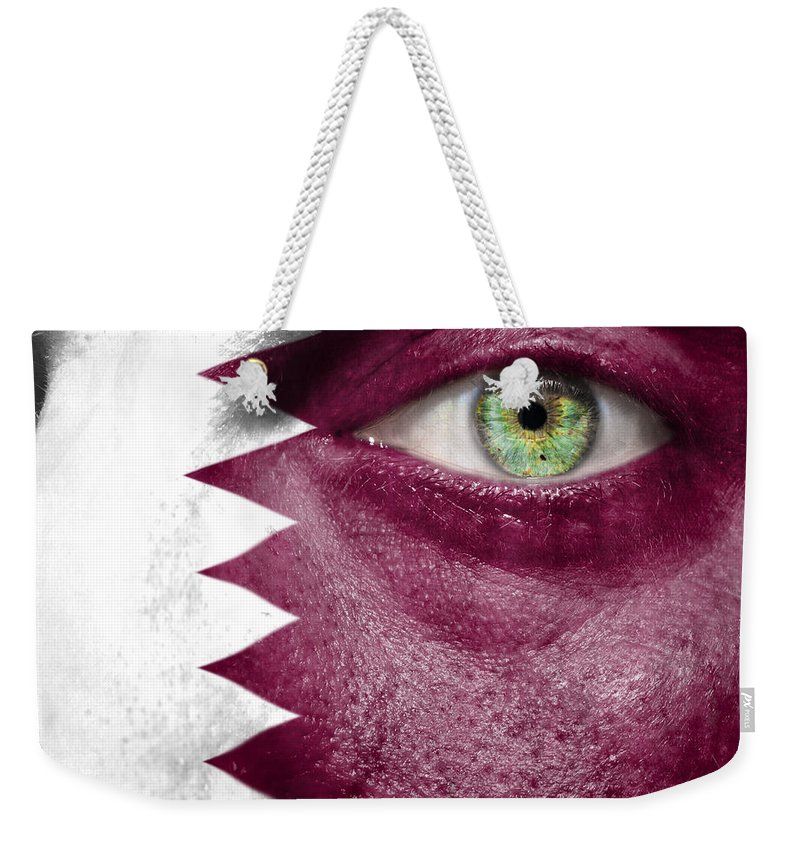 Art Weekender Tote Bag featuring the photograph Go Qatar by Semmick Photo