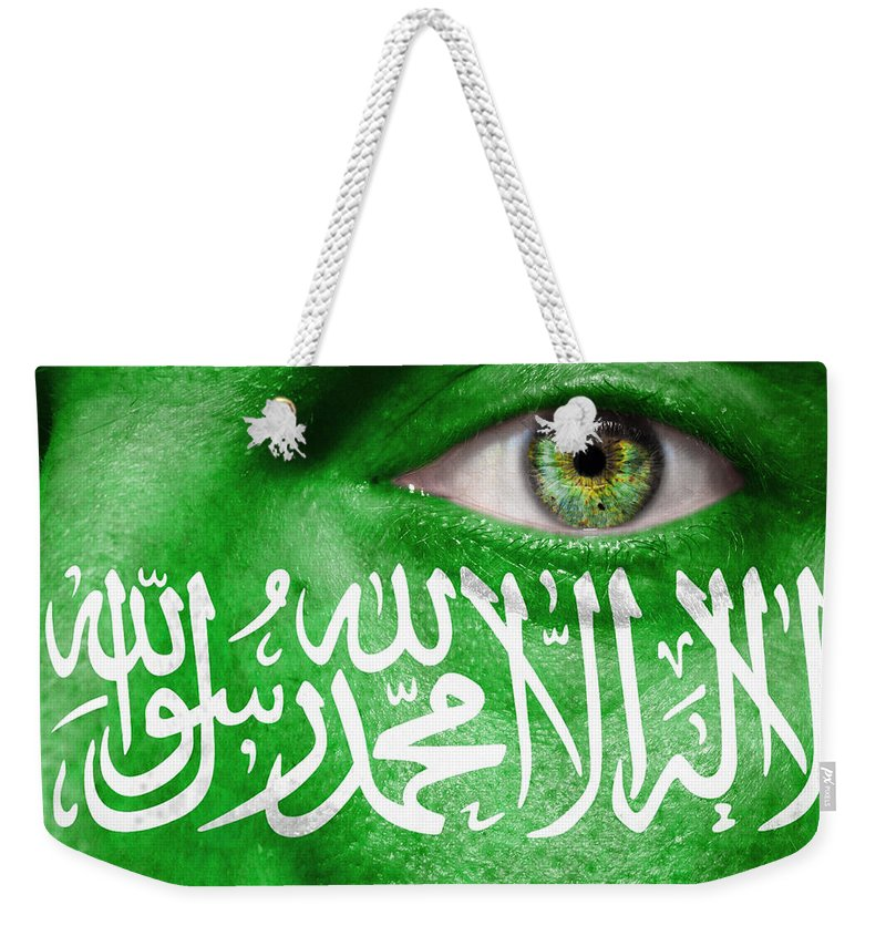 Art Weekender Tote Bag featuring the photograph Go Saudi Arabia by Semmick Photo