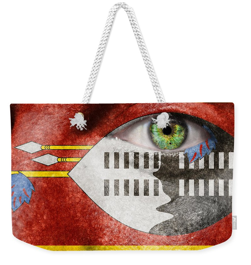 Art Weekender Tote Bag featuring the photograph Go Swaziland by Semmick Photo