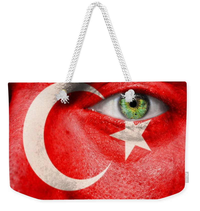 Art Weekender Tote Bag featuring the photograph Go Turkey by Semmick Photo
