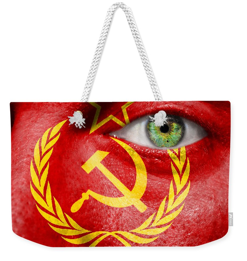 Art Weekender Tote Bag featuring the photograph Go Ussr by Semmick Photo