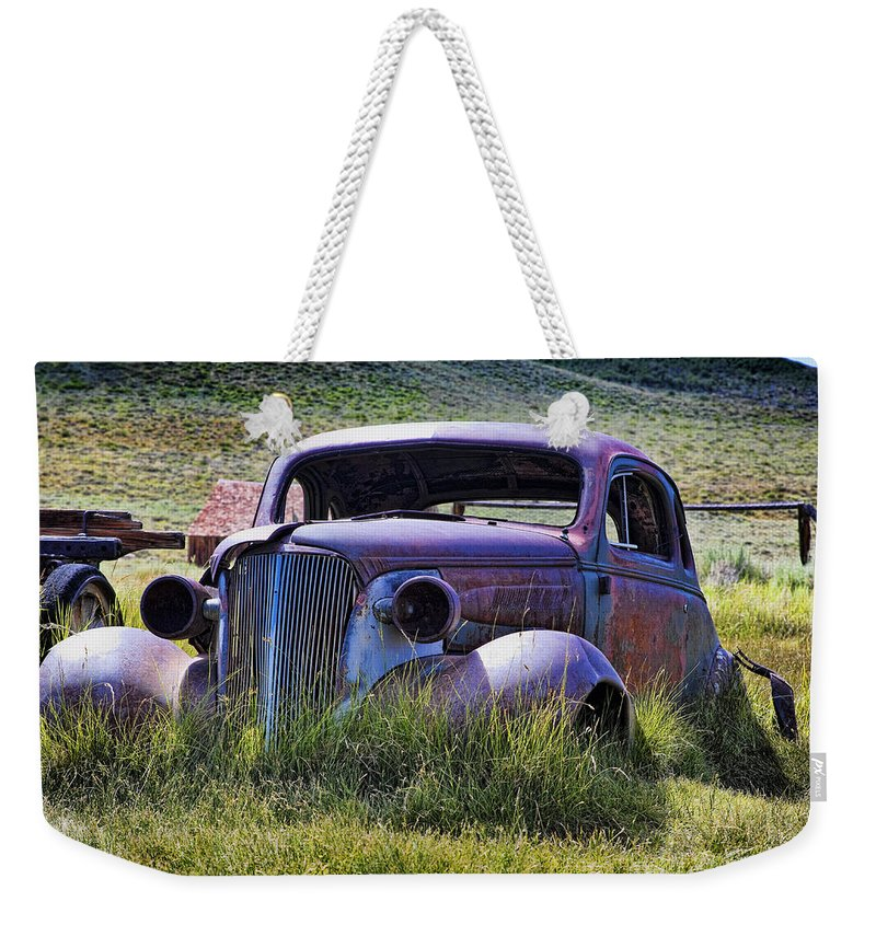 Antique Weekender Tote Bag featuring the photograph Going Nowhere by Kelley King